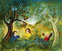 children by the orchard by david boyd