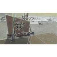 harbor scene (venice?) by edouard-georges mac-avoy