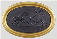 the frightened horse plaque by wedgwood