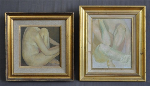 female nude studies 2 works by bryan westwood