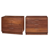 chests (pair) by george nakashima