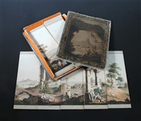 myiorama italian scenery (set of 24) (after j. clark) by samuel leigh