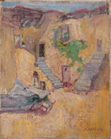 le village by john henry twachtman