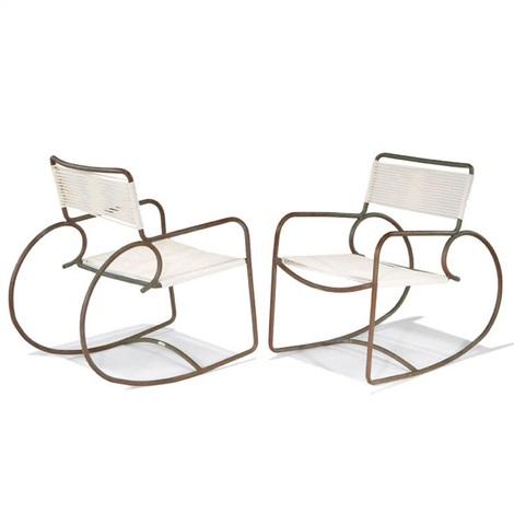 Excellent Rocking Chair By Walter Lamb On Artnet Inzonedesignstudio Interior Chair Design Inzonedesignstudiocom