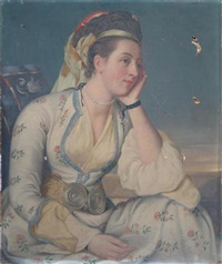 portrait of a lady by anglo-indian school (19)
