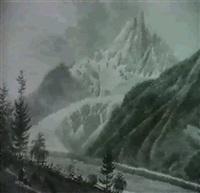schweizer gebirgslandschaft by alexandre maurice almeras
