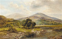 crossing the ford by william henry waring