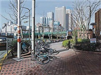 six views of edo: shinjuku i by richard estes