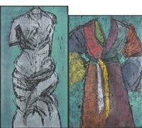 the colorful venus and neptune by jim dine