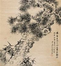 松石图 by hu tiemei