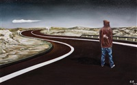 road · man by zhang wei