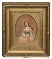 julia black, daughter of william and delia black by john wood dodge