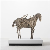 untitled (horse) by deborah butterfield