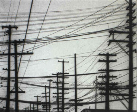 telephone poles seattle by william heick