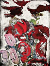 not yet titled - rb 3460 by ross bleckner