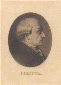 portrait de gottlieb konrad pfeffel en profil à droite by jean jacques karpff