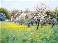 printemps à beautheuil en seine-et-marne by maurice bismuth lemaître