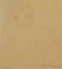 portrait d'enfant by léon spilliaert