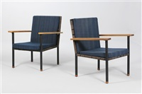 armchairs (pair) by carl auböck