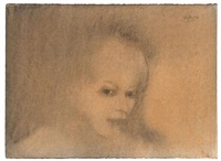untitled (portrait of a girl) by john paul jones