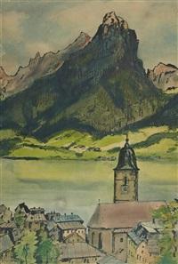 seelandschaft by hans kobinger