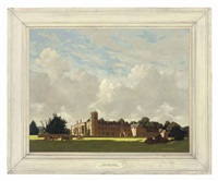 lacock abbey, wiltshire by eric hesketh hubbard