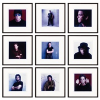 lou (lou reed portfolio) (set of 9) by timothy greenfield-sanders