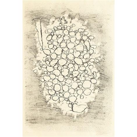 formen in braun waldmensch tertiar gestalt steintraube ii traube 2 works by willi baumeister