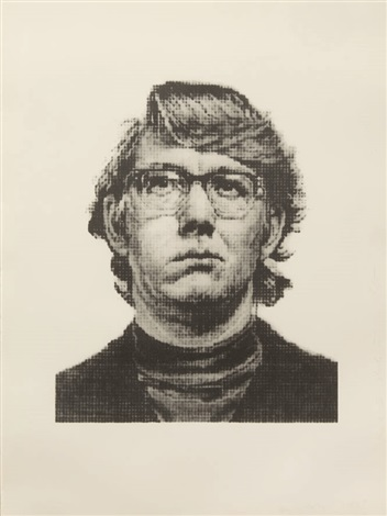 keith iv state ii by chuck close