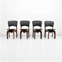 dining chairs (set of 4) by don shoemaker