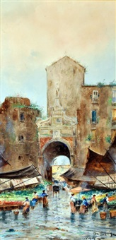 porta capuana by fulvio tessitore