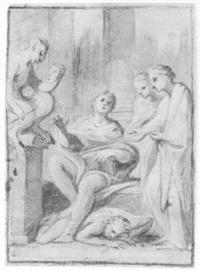 an allegorical scene by giuseppe ciccarelli