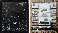 mad repeater (diptych) by padraig timoney