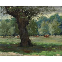 the pasture by mary augusta hiester reid