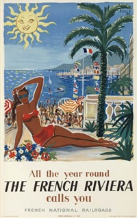 all the year round/the french riviera/calls you by hervé baille