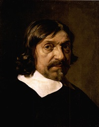 portrait of a man (the philosopher renée descartes?) by mathieu (le chevalier) le nain