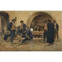 at the tavern by gustavo simoni