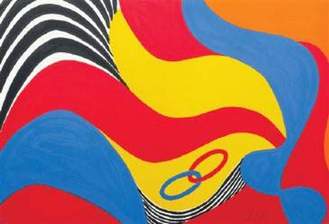 flying colors by alexander calder