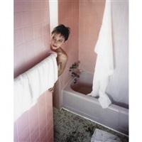 pink bathroom by carlos and jason sanchez