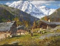 valle d'aosta- ollomont by licinio campagnari