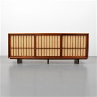 triple cabinet by george nakashima