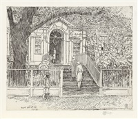 chase house by childe hassam