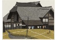 the harvest season in aizu by kiyoshi saito