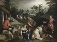 an allegory of autumn by pieter lisaert