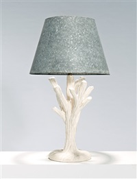tree-form table lamp by john dickinson