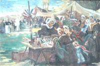 jour de pardon au pays bigouden by charles leon godeby