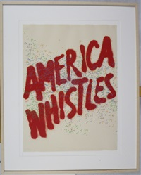 america whistles from america: the third eye by ed ruscha