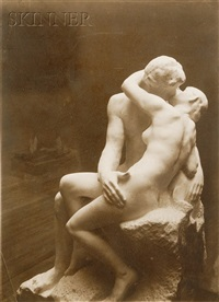 photographs of auguste rodin sculptures (7 works) by p. choumoff