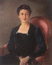 retrato de la señora de la peña by marisa roësset velasco