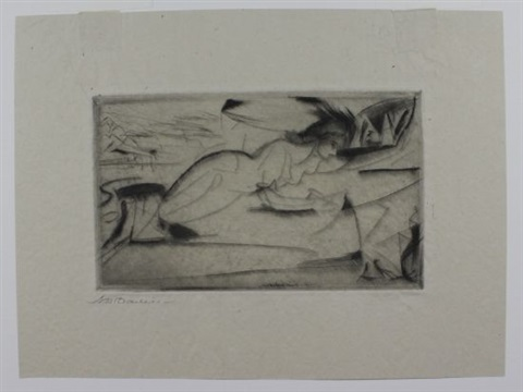 resurrection the temple nocturne 3 works various dates and sizes by arthur bowen davies